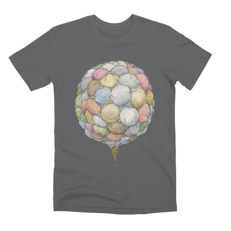 Ice Creams Cone Men's Premium T-Shirt by Scott Teplin's Chazerai Bazaar