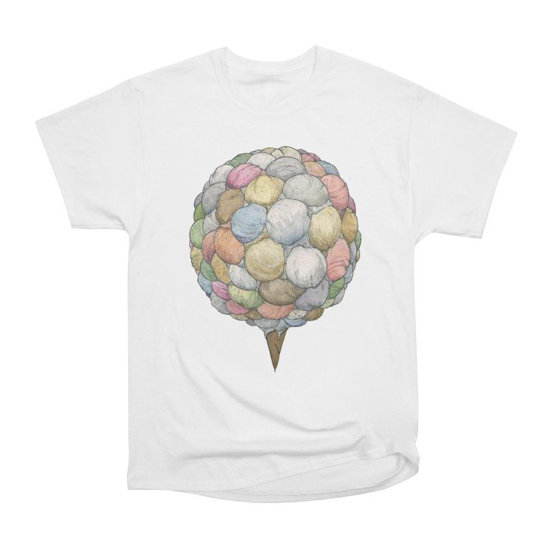 Ice Creams Cone Men's Heavyweight T-Shirt by Scott Teplin's Chazerai Bazaar