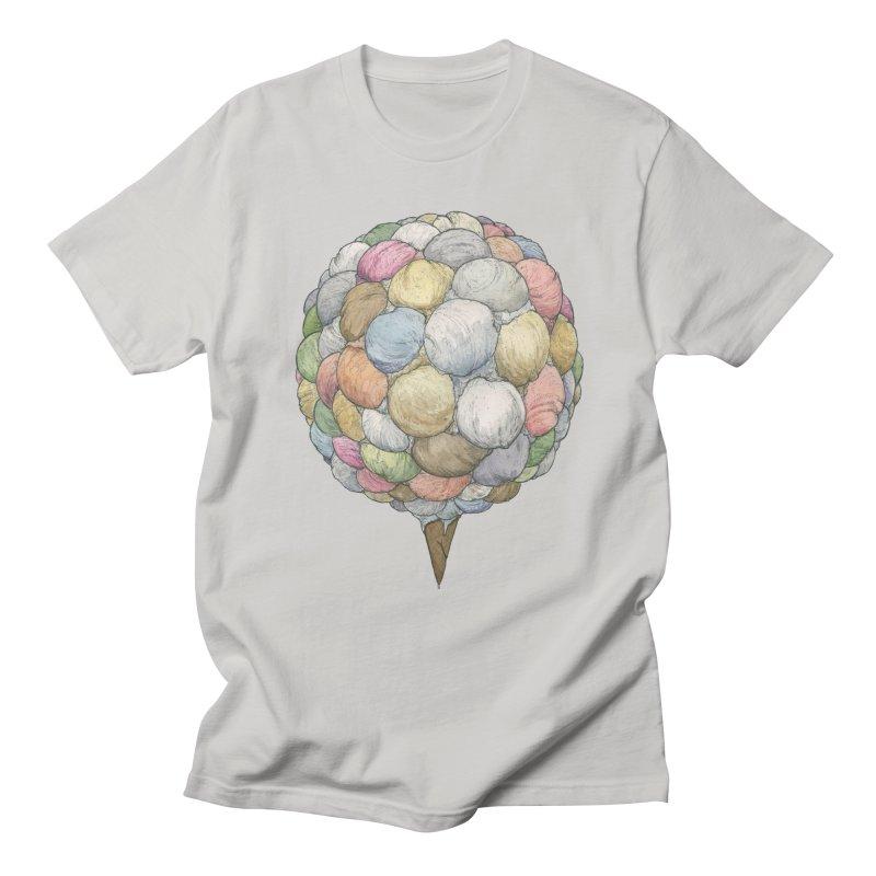 Ice Creams Cone Women's Regular Unisex T-Shirt by Scott Teplin's Chazerai Bazaar