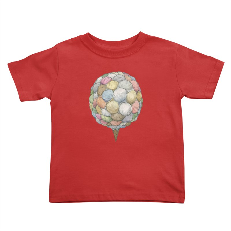 Ice Creams Cone Kids Toddler T-Shirt by Scott Teplin's Chazerai Bazaar