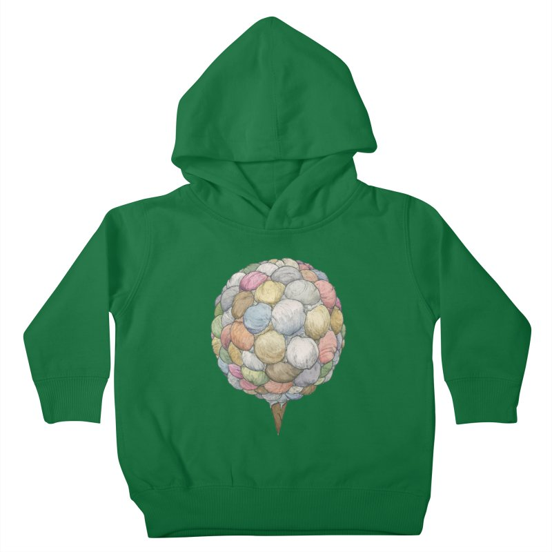 Ice Creams Cone Kids Toddler Pullover Hoody by Scott Teplin's Chazerai Bazaar