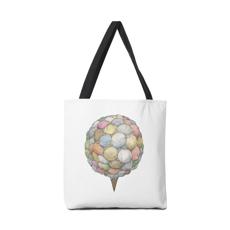 Ice Creams Cone Accessories Tote Bag Bag by Scott Teplin's Chazerai Bazaar