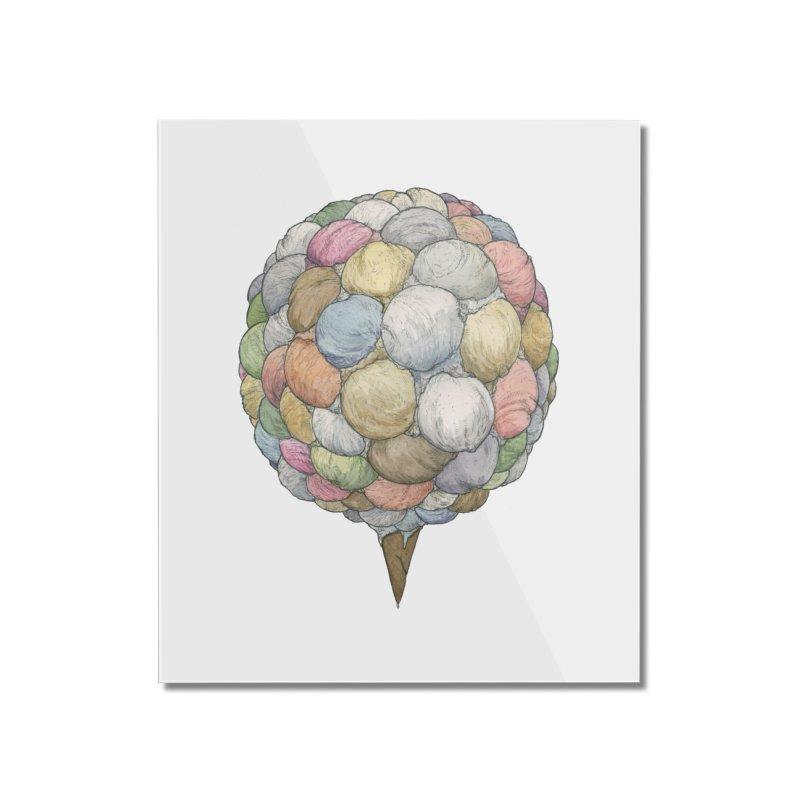 Ice Creams Cone Home Mounted Acrylic Print by Scott Teplin's Chazerai Bazaar