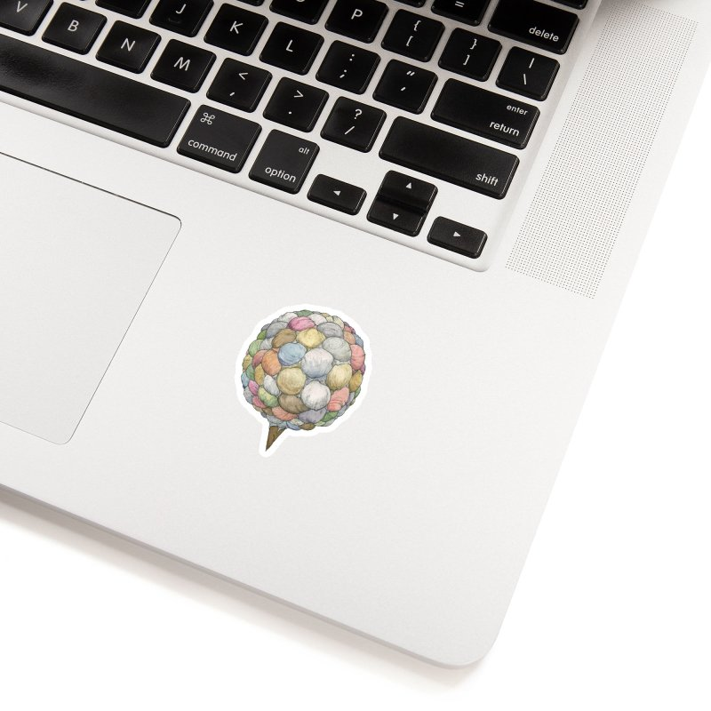 Ice Creams Cone Accessories Sticker by Scott Teplin's Chazerai Bazaar