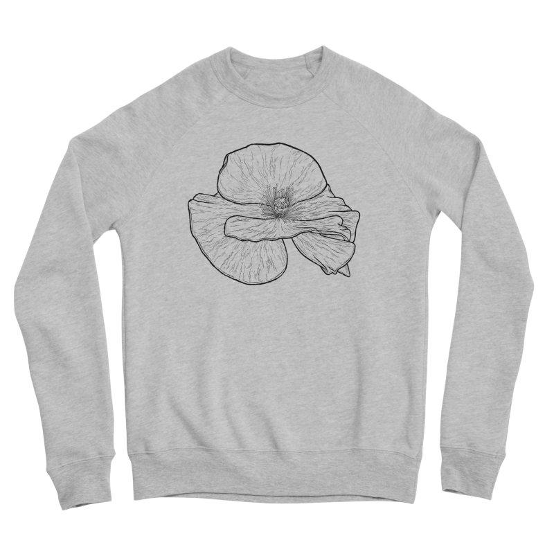 POPPY lines Women's Sponge Fleece Sweatshirt by Scott Teplin's Chazerai Bazaar