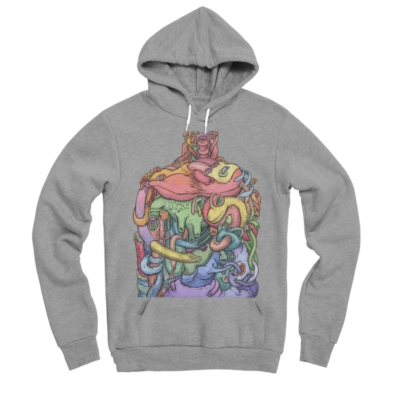 How Stuff Doesn't Really Work Men's Sponge Fleece Pullover Hoody by Scott Teplin's Chazerai Bazaar