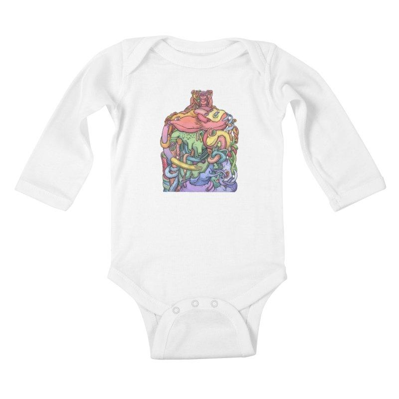 How Stuff Doesn't Really Work Kids Baby Longsleeve Bodysuit by Scott Teplin's Chazerai Bazaar