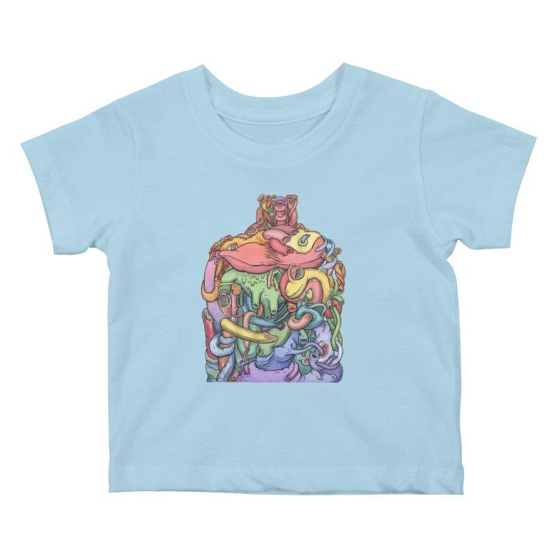 How Stuff Doesn't Really Work Kids Baby T-Shirt by Scott Teplin's Chazerai Bazaar