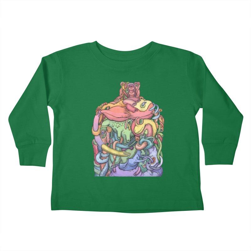How Stuff Doesn't Really Work Kids Toddler Longsleeve T-Shirt by Scott Teplin's Chazerai Bazaar