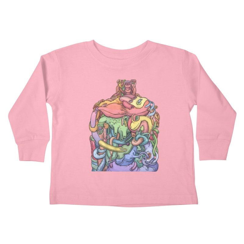 How Stuff Doesn't Really Work Kids Toddler Longsleeve T-Shirt by Scott Teplin's Chazerai Bazaar