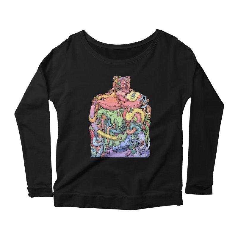 How Stuff Doesn't Really Work Women's Scoop Neck Longsleeve T-Shirt by Scott Teplin's Chazerai Bazaar