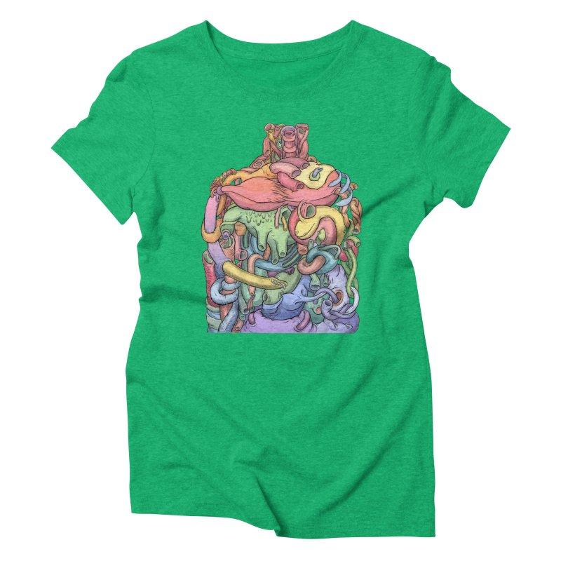 How Stuff Doesn't Really Work Women's Triblend T-Shirt by Scott Teplin's Chazerai Bazaar