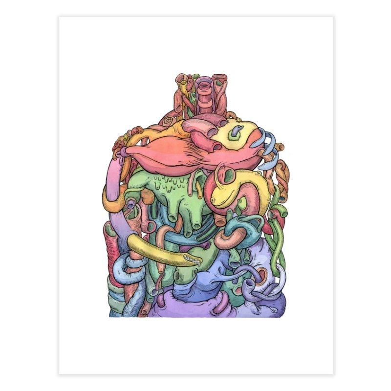 How Stuff Doesn't Really Work Home Fine Art Print by Scott Teplin's Chazerai Bazaar