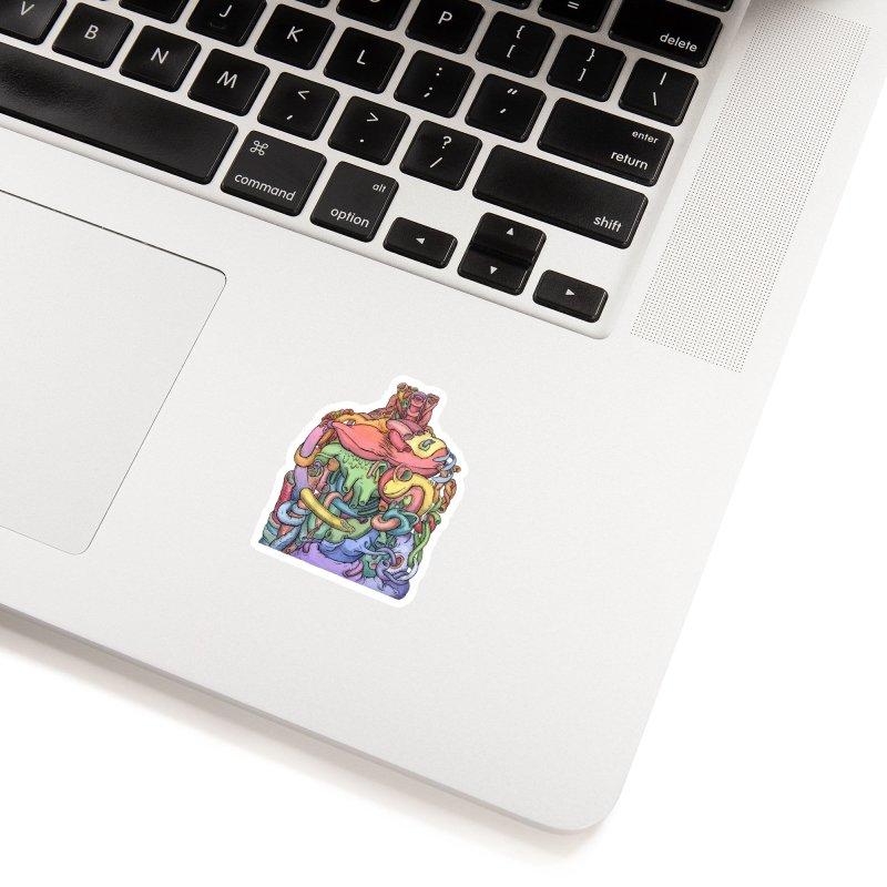How Stuff Doesn't Really Work Accessories Sticker by Scott Teplin's Chazerai Bazaar