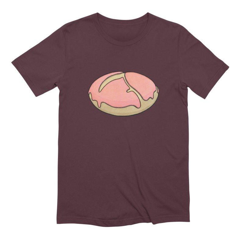 Grim Reaper (strawberry frosted) Donut Men's Extra Soft T-Shirt by Scott Teplin's Chazerai Bazaar