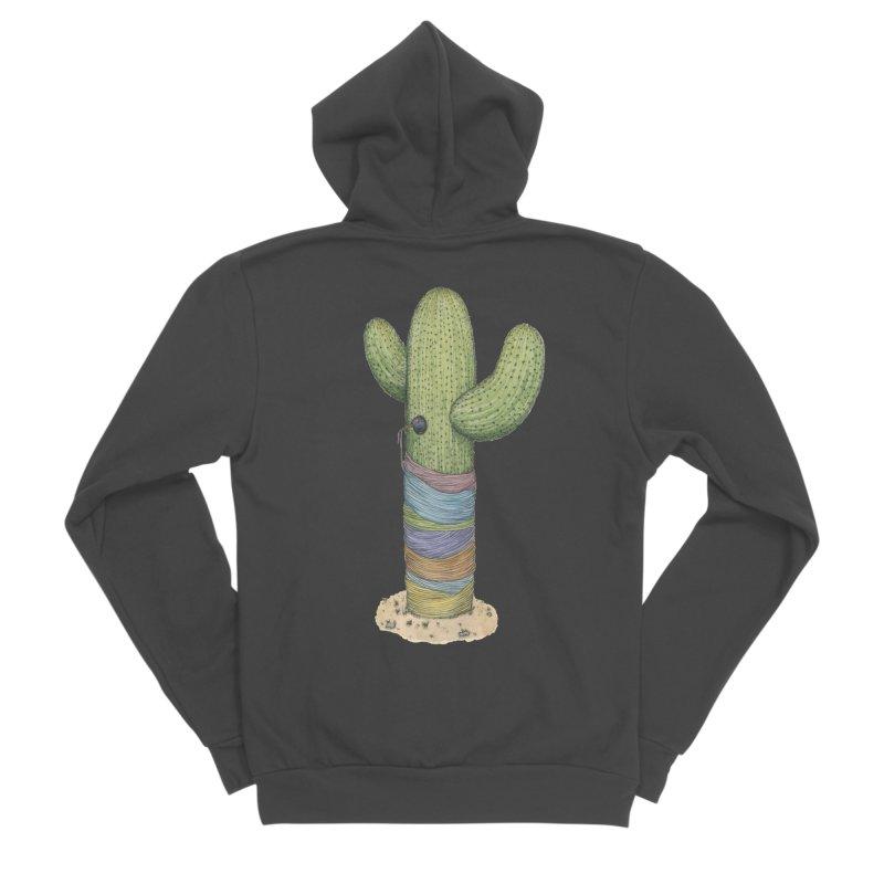 Cactus Yarn Women's Sponge Fleece Zip-Up Hoody by Scott Teplin's Chazerai Bazaar