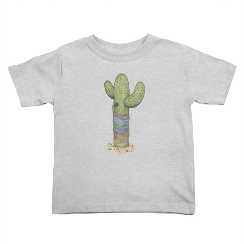 Cactus Yarn Kids Toddler T-Shirt by Scott Teplin's Chazerai Bazaar