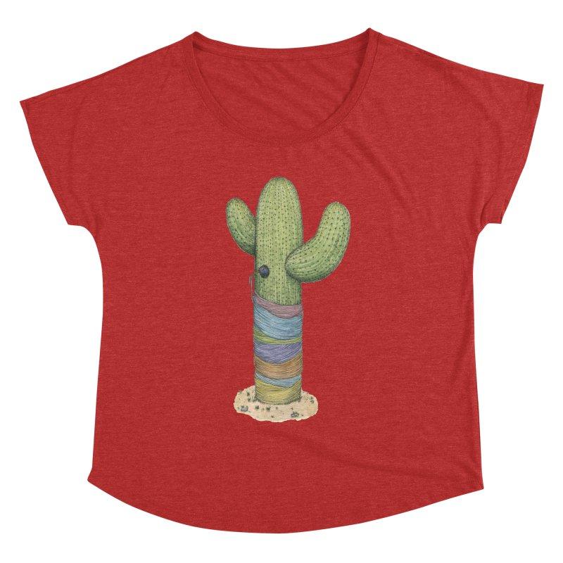Cactus Yarn Women's Dolman Scoop Neck by Scott Teplin's Chazerai Bazaar
