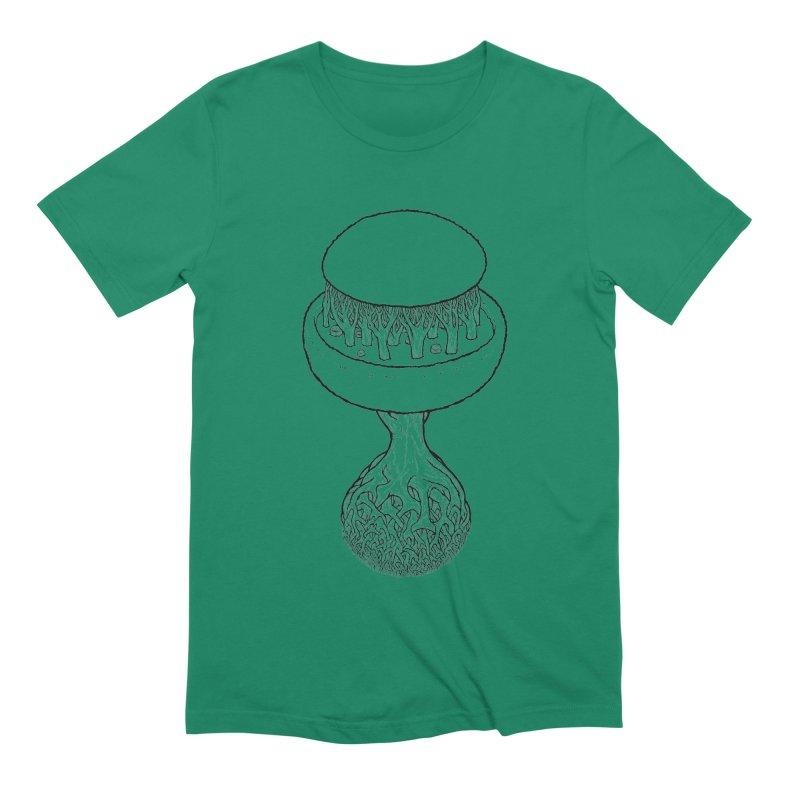 Rootball lineas Men's Extra Soft T-Shirt by Scott Teplin's Chazerai Bazaar