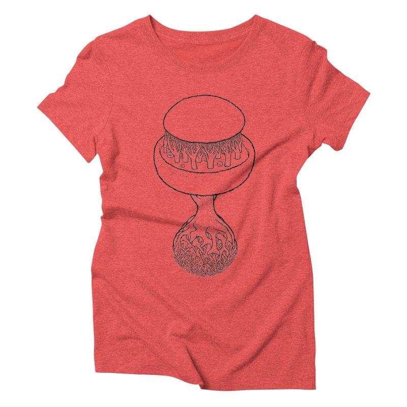 Rootball lineas Women's Triblend T-Shirt by Scott Teplin's Chazerai Bazaar