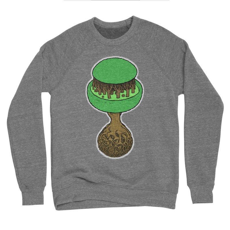 Rootball color Women's Sponge Fleece Sweatshirt by Scott Teplin's Chazerai Bazaar