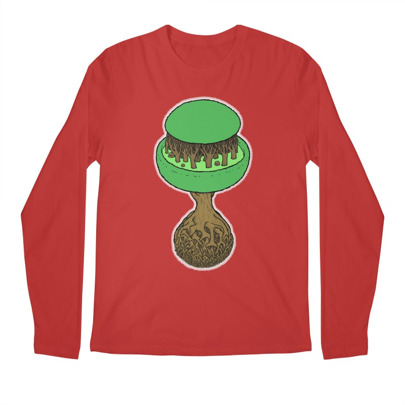 Rootball color Men's Regular Longsleeve T-Shirt by Scott Teplin's Chazerai Bazaar