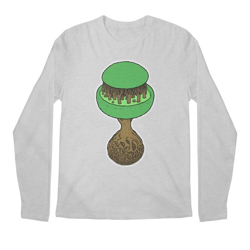 Rootball color Men's Regular Longsleeve T-Shirt by Scott Teplin's Chazerai Bazaar