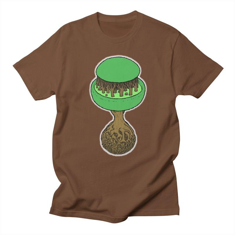Rootball color Men's Regular T-Shirt by Scott Teplin's Chazerai Bazaar