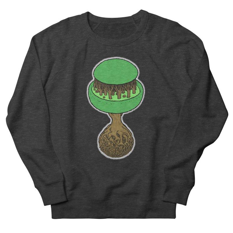 Rootball color Women's French Terry Sweatshirt by Scott Teplin's Chazerai Bazaar