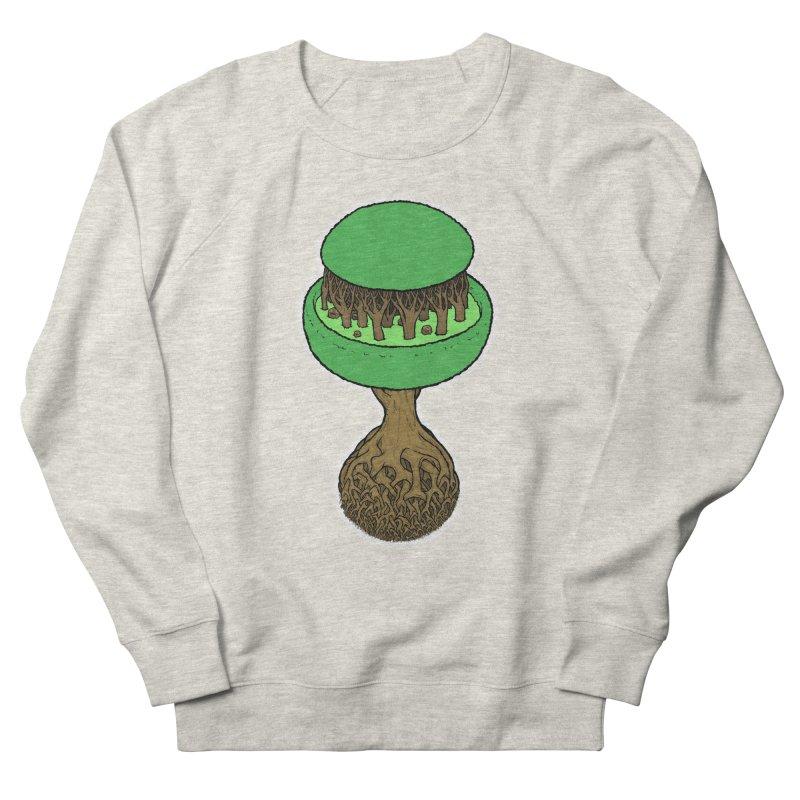 Rootball color Men's French Terry Sweatshirt by Scott Teplin's Chazerai Bazaar