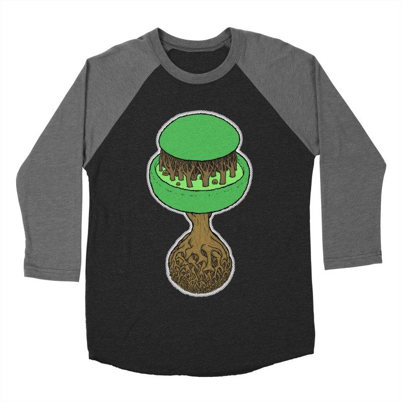 Rootball color Women's Baseball Triblend Longsleeve T-Shirt by Scott Teplin's Chazerai Bazaar