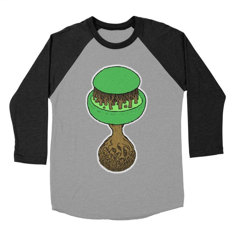 Rootball color Men's Baseball Triblend Longsleeve T-Shirt by Scott Teplin's Chazerai Bazaar