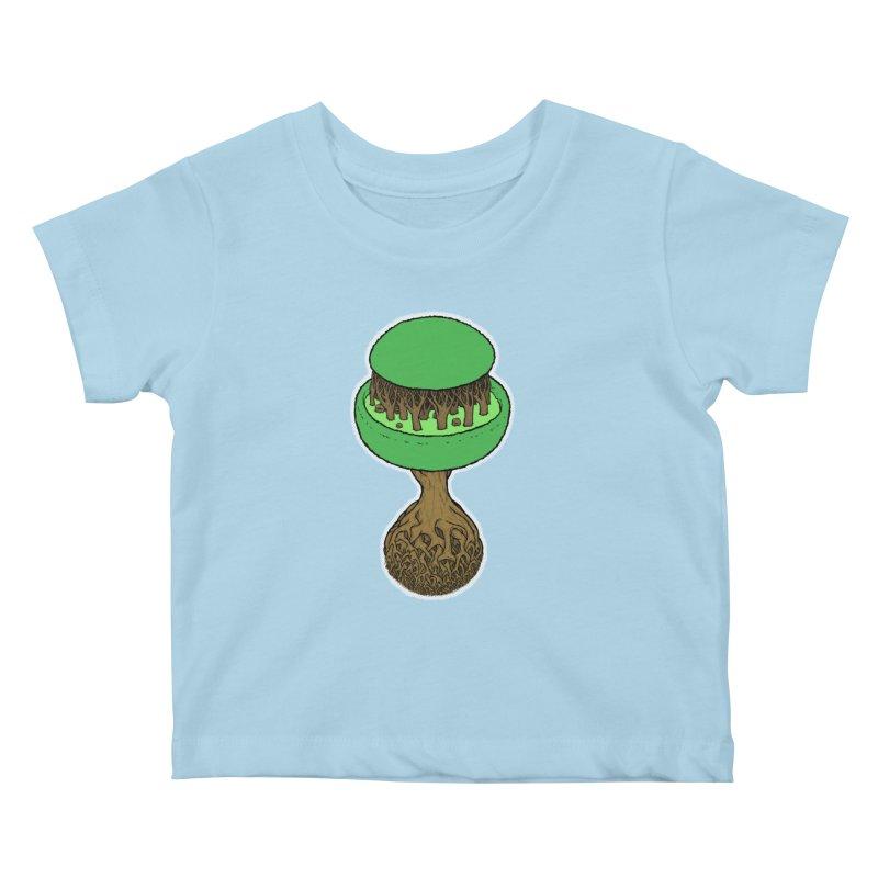 Rootball color Kids Baby T-Shirt by Scott Teplin's Chazerai Bazaar