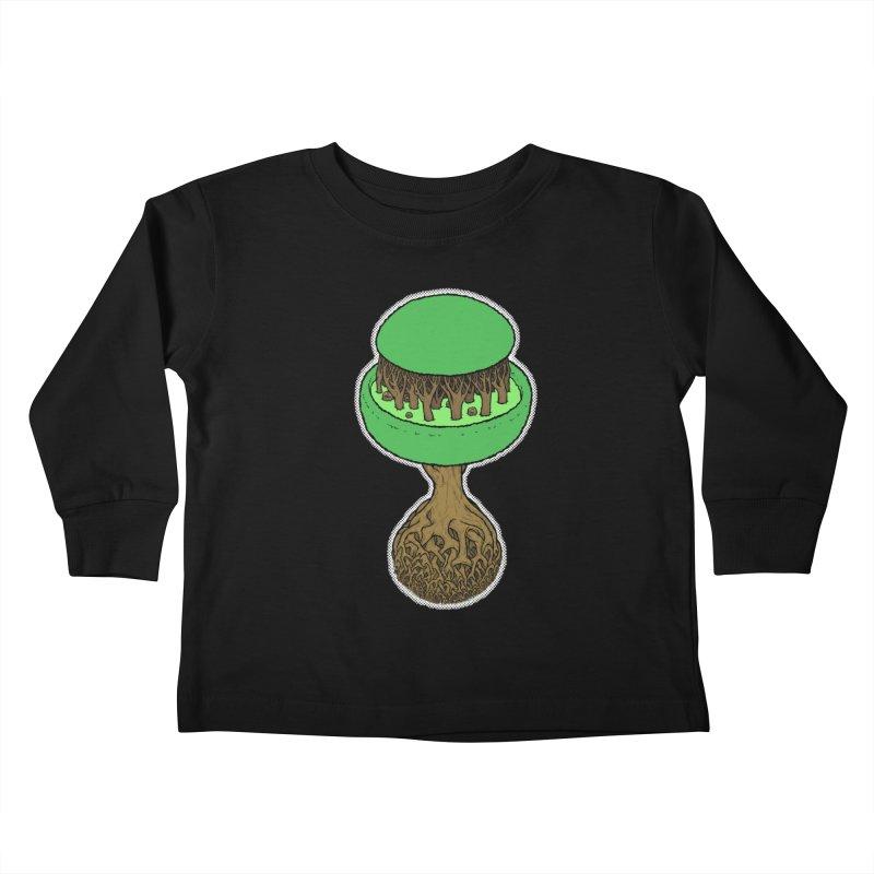 Rootball color Kids Toddler Longsleeve T-Shirt by Scott Teplin's Chazerai Bazaar