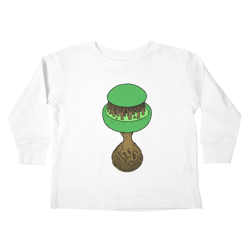 Rootball color Kids Toddler Longsleeve T-Shirt by Scott Teplin's Chazerai Bazaar