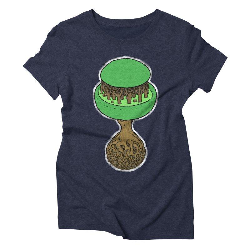 Rootball color Women's Triblend T-Shirt by Scott Teplin's Chazerai Bazaar