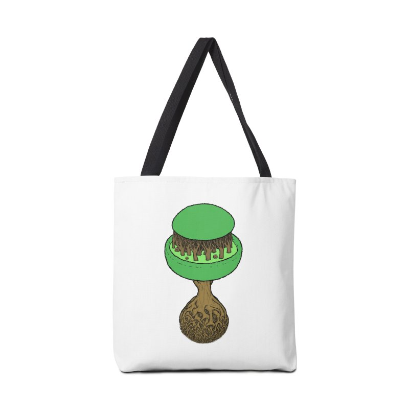 Rootball color Accessories Tote Bag Bag by Scott Teplin's Chazerai Bazaar