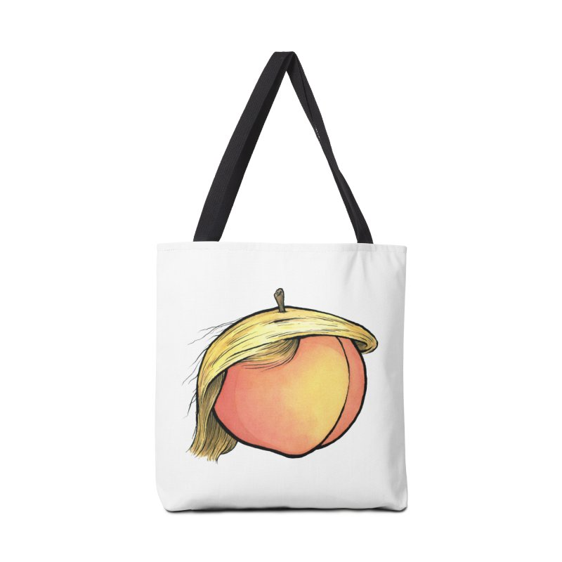 2019: The Year of the Peach Accessories Tote Bag Bag by Scott Teplin's Chazerai Bazaar