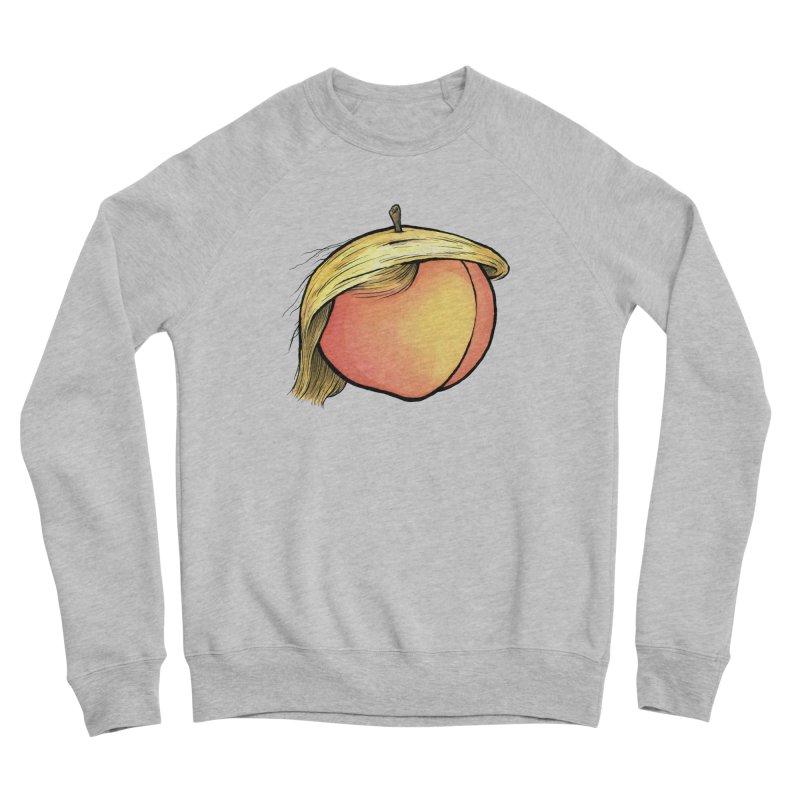 2019: The Year of the Peach Men's Sponge Fleece Sweatshirt by Scott Teplin's Chazerai Bazaar