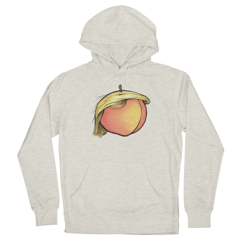 2019: The Year of the Peach Men's French Terry Pullover Hoody by Scott Teplin's Chazerai Bazaar