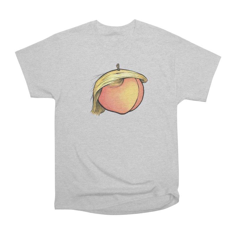 2019: The Year of the Peach Men's Heavyweight T-Shirt by Scott Teplin's Chazerai Bazaar