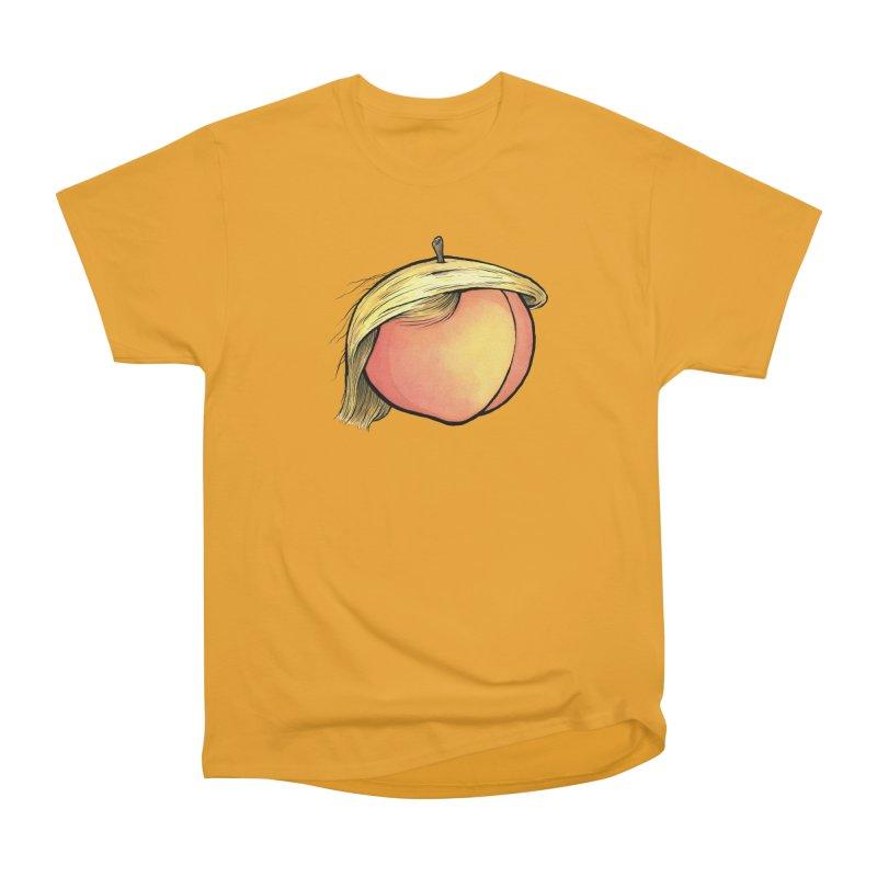 2019: The Year of the Peach Women's Heavyweight Unisex T-Shirt by Scott Teplin's Chazerai Bazaar