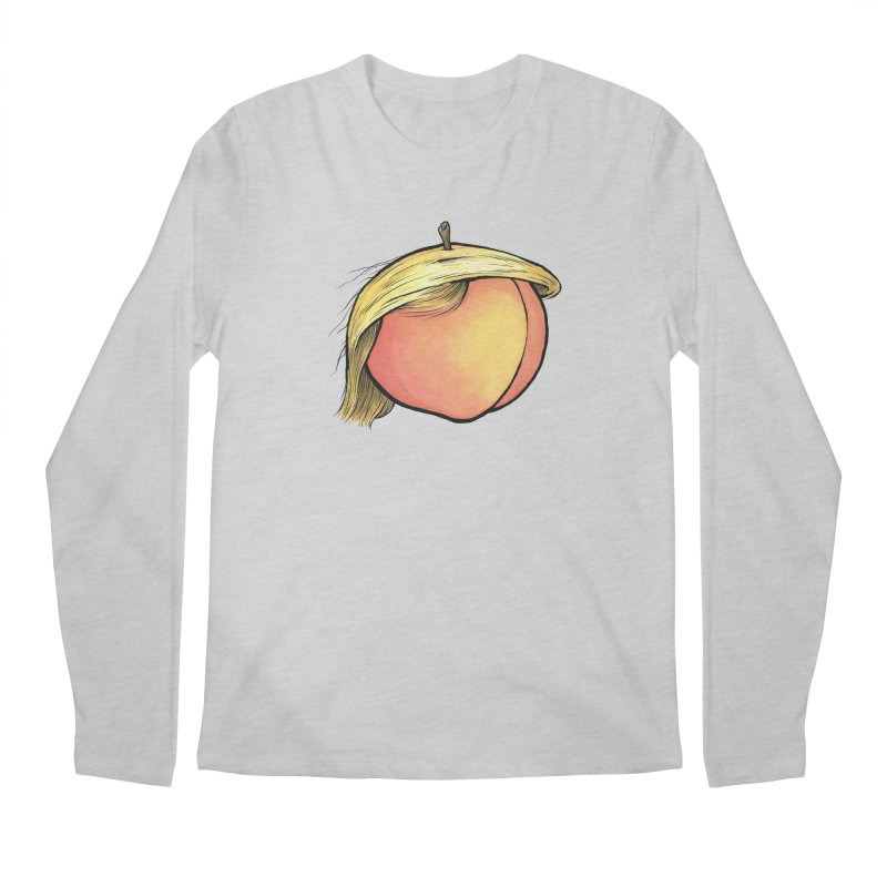 2019: The Year of the Peach Men's Regular Longsleeve T-Shirt by Scott Teplin's Chazerai Bazaar