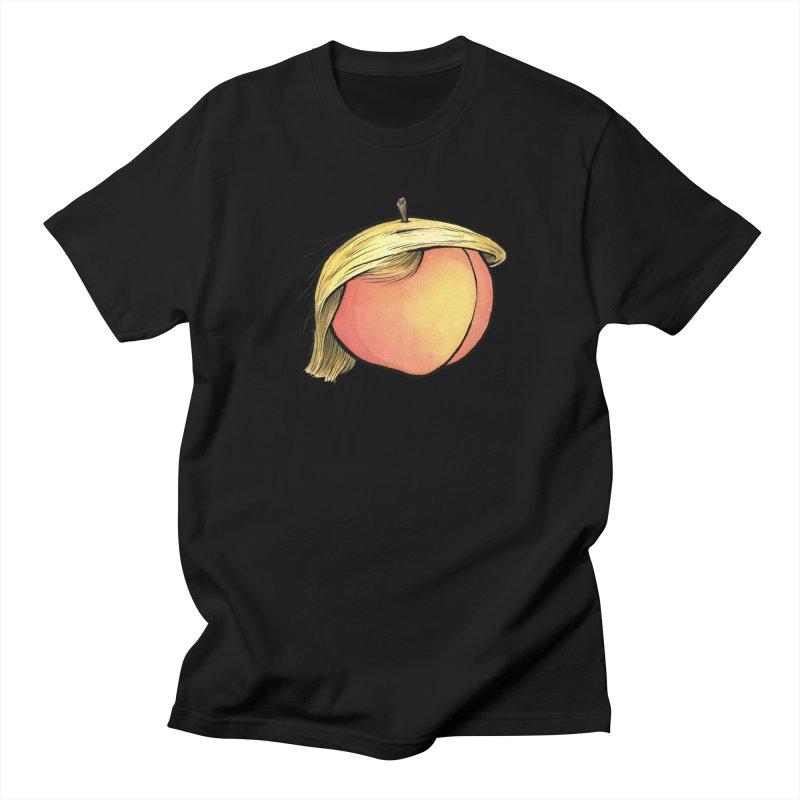 2019: The Year of the Peach Men's Regular T-Shirt by Scott Teplin's Chazerai Bazaar
