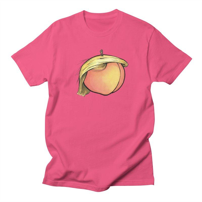 2019: The Year of the Peach Women's Regular Unisex T-Shirt by Scott Teplin's Chazerai Bazaar