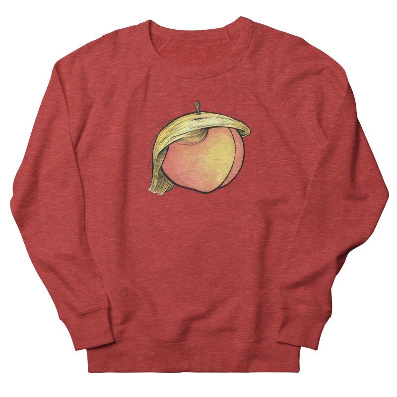 2019: The Year of the Peach Women's French Terry Sweatshirt by Scott Teplin's Chazerai Bazaar
