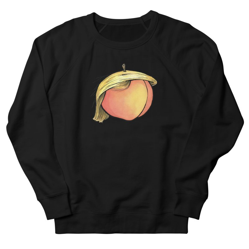 2019: The Year of the Peach Women's French Terry Sweatshirt by Scott Teplin's Chazerai Bazaar