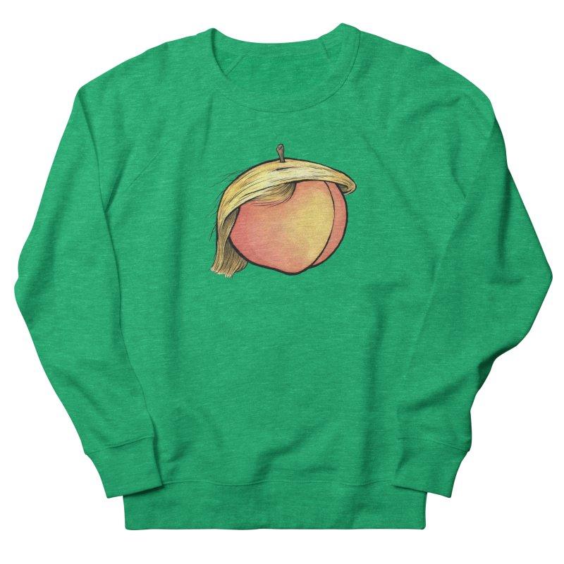 2019: The Year of the Peach Men's French Terry Sweatshirt by Scott Teplin's Chazerai Bazaar