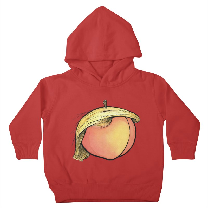 2019: The Year of the Peach Kids Toddler Pullover Hoody by Scott Teplin's Chazerai Bazaar