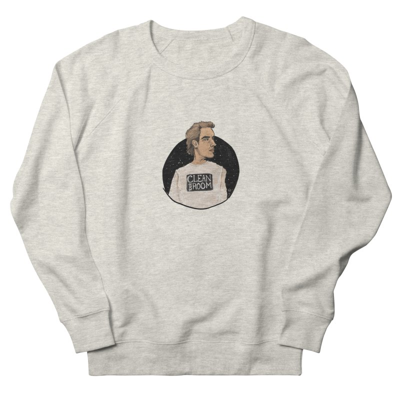 JBP: Clean Your Room in Men's French Terry Sweatshirt Heather Oatmeal by Tequila Sunday